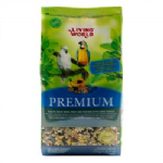 Living World Premium Mix For Large Parrots - 1.7kg